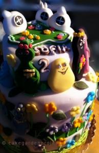 barbapapà cake