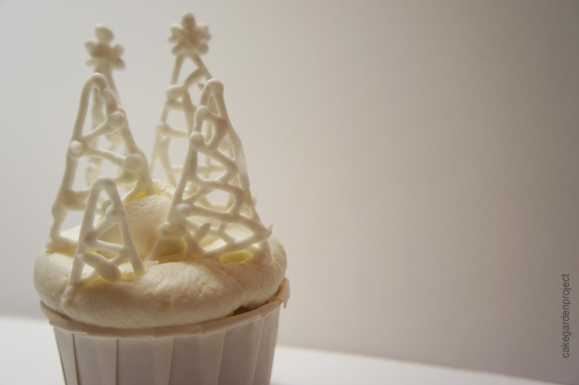 cupcake Bianco Natale