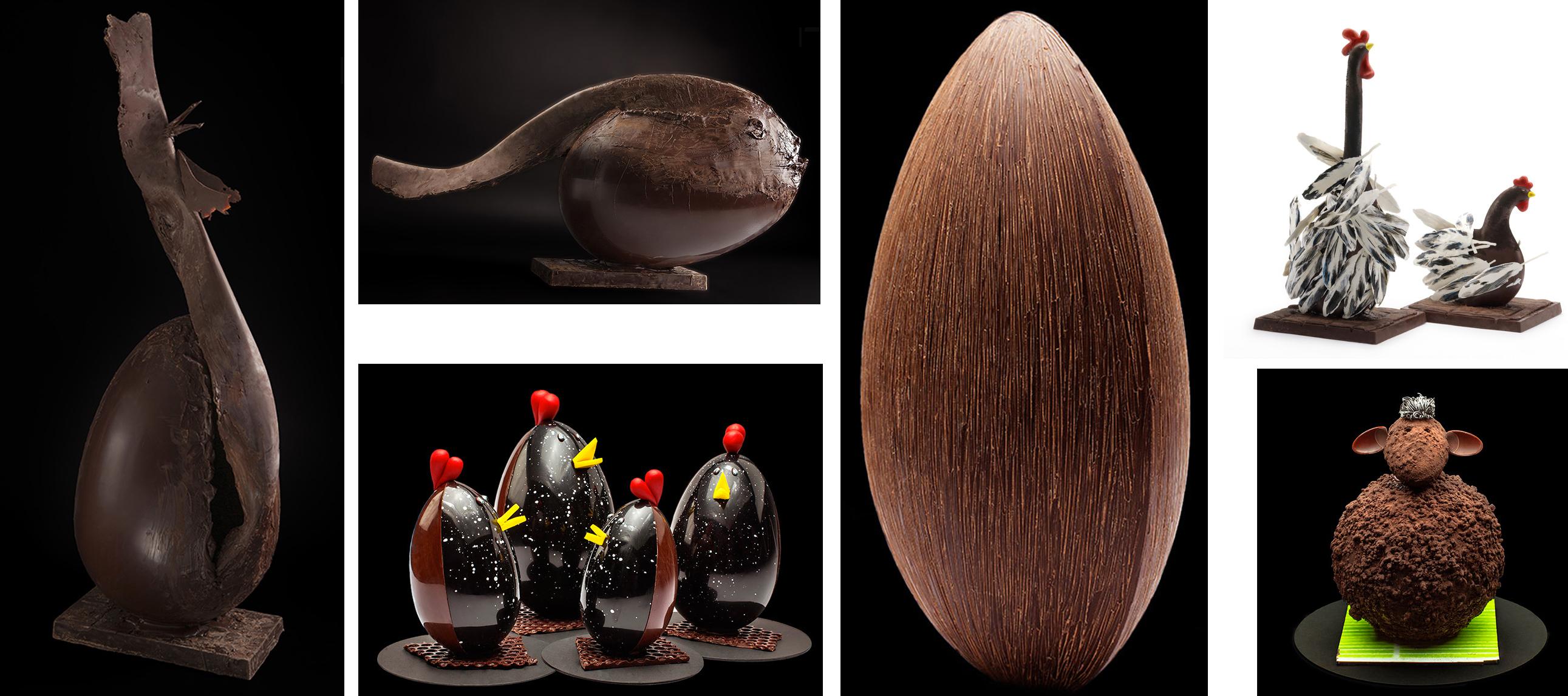 la creatività delle uova della pasqua