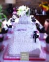 cake ispirata alla petite robe noire di Guerlain