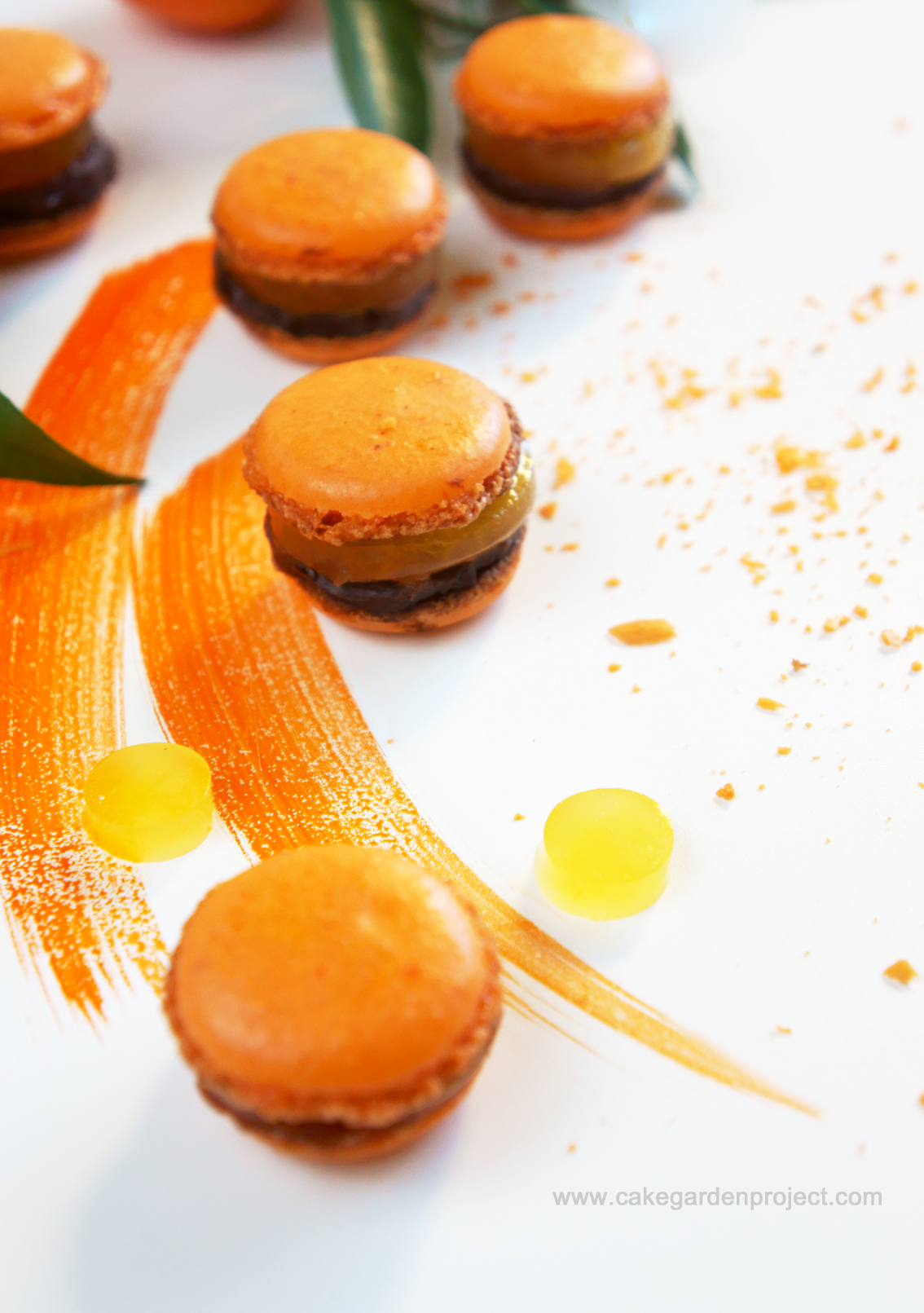 macarons alle clementine