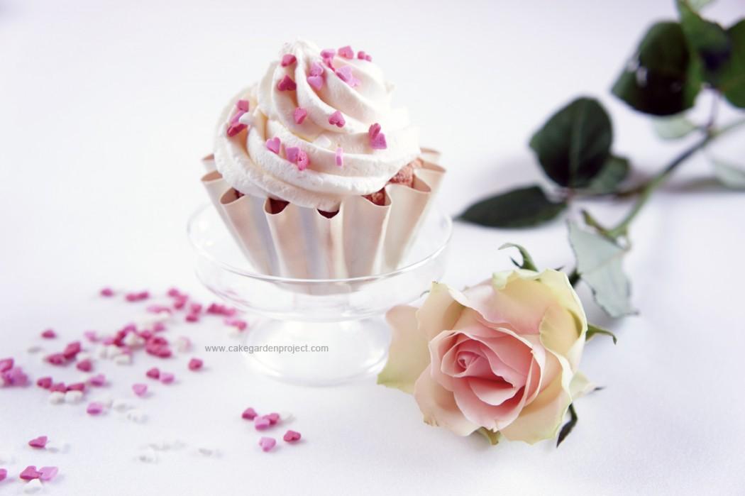 angel food cupcake al profumo di limone