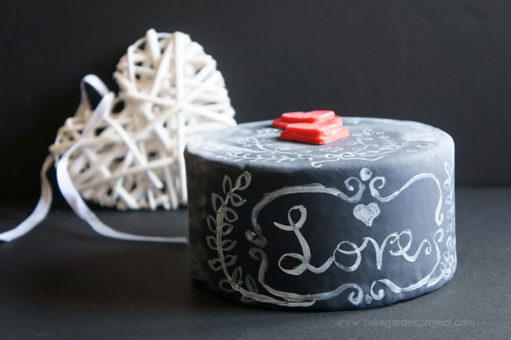 CHALKBOARD CAKE OVVERO UNA TORTA LAVAGNA