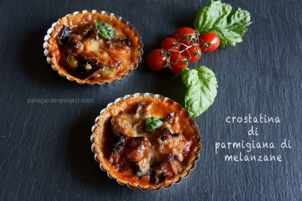 crostatina di parmigiana di melanzane