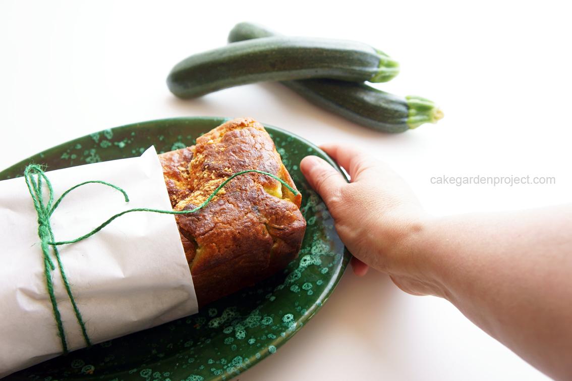 plumcake speziato alle zucchine