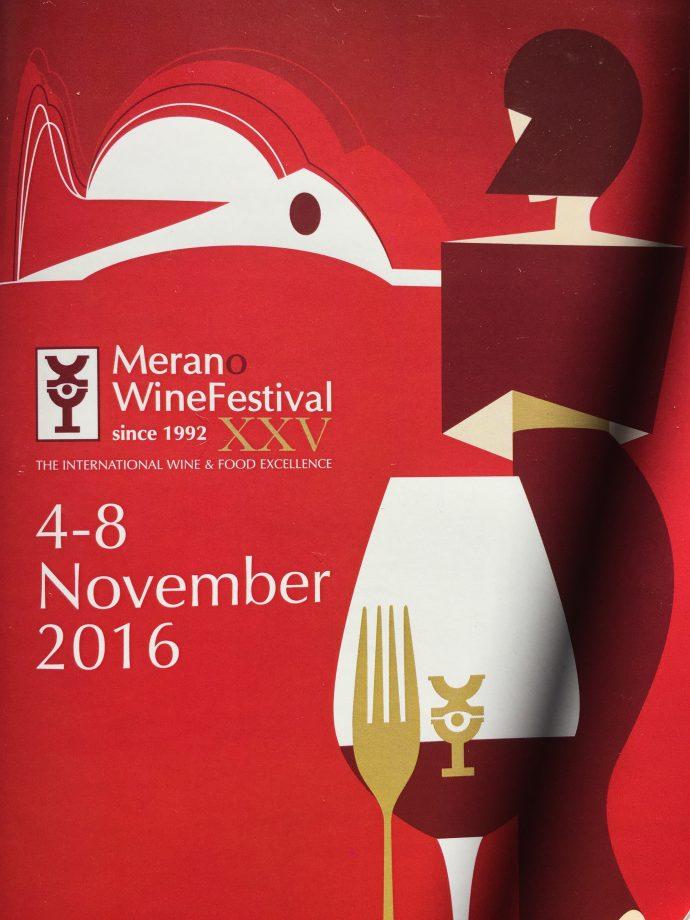 XXV Merano Wine Festival 4-8 novembre 2016