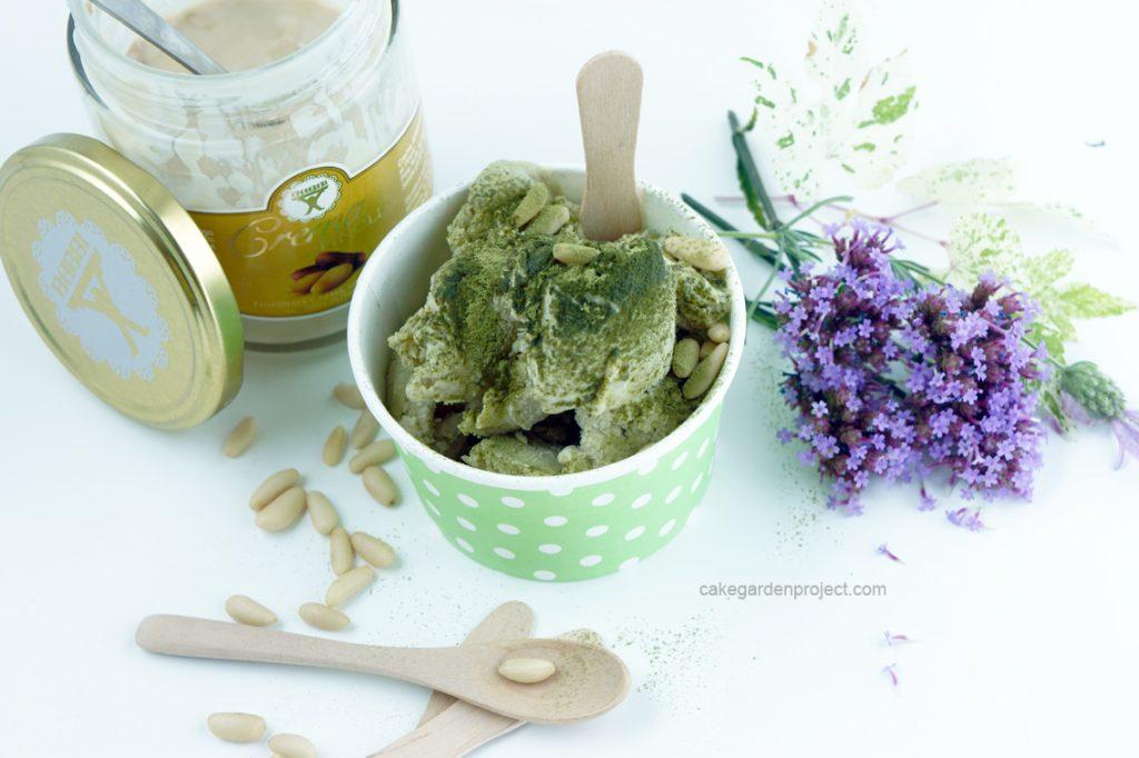 gelato pinoli e te matcha 3