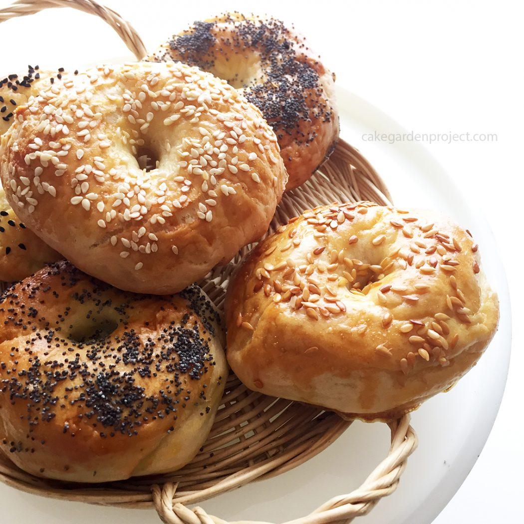 bagels con semi di nigella & company