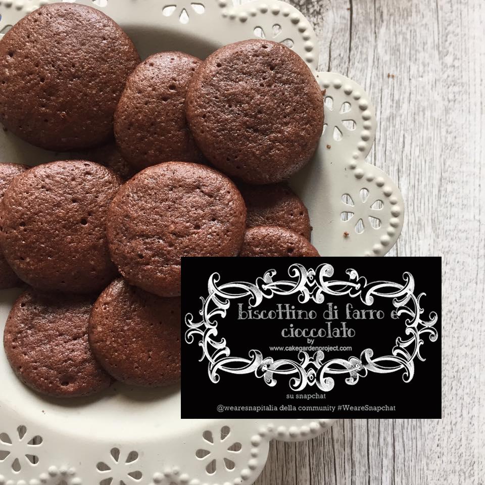 biscottini farro cioccolato
