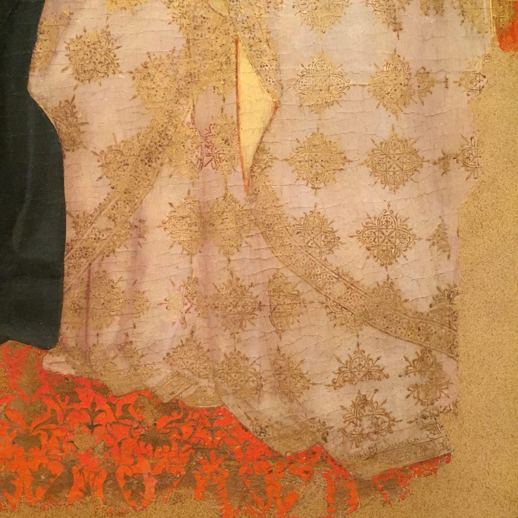 drappeggio stoffa