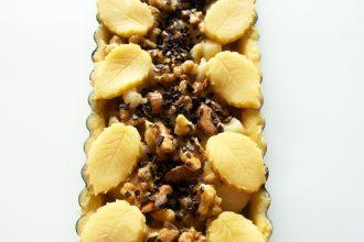 crostata di mele e noci