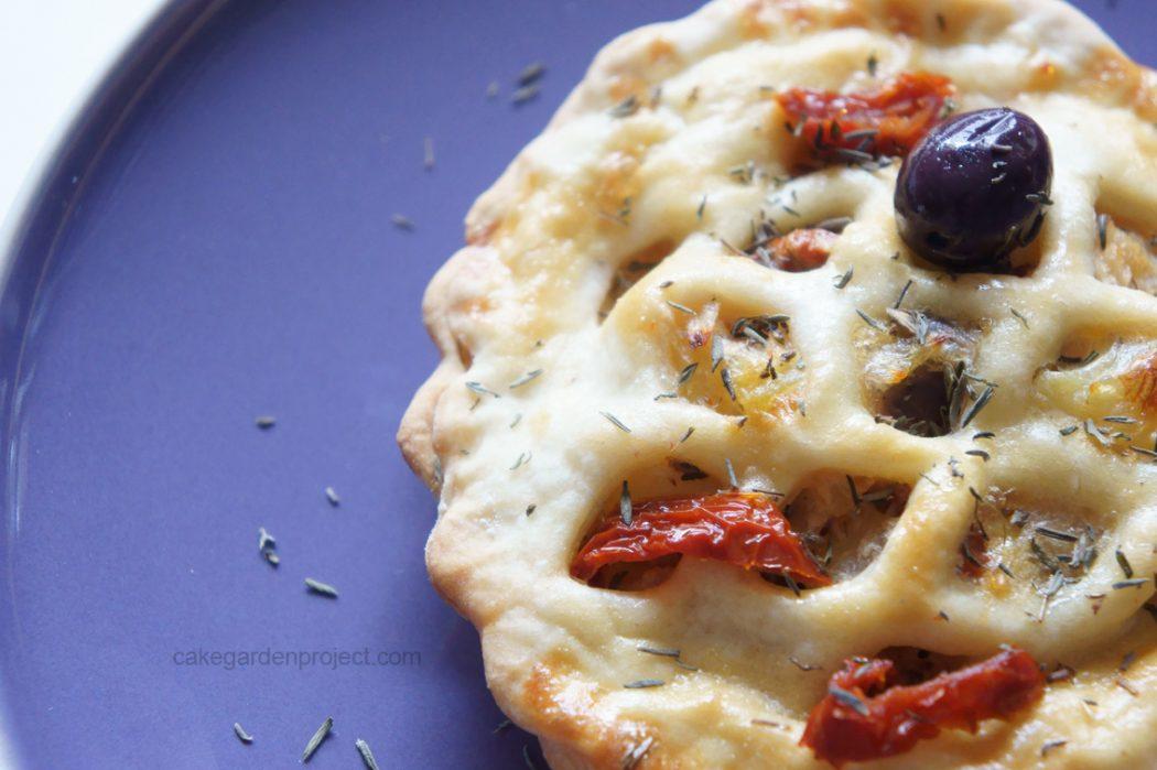 tortino di stoccafisso con patate alla mediterranea