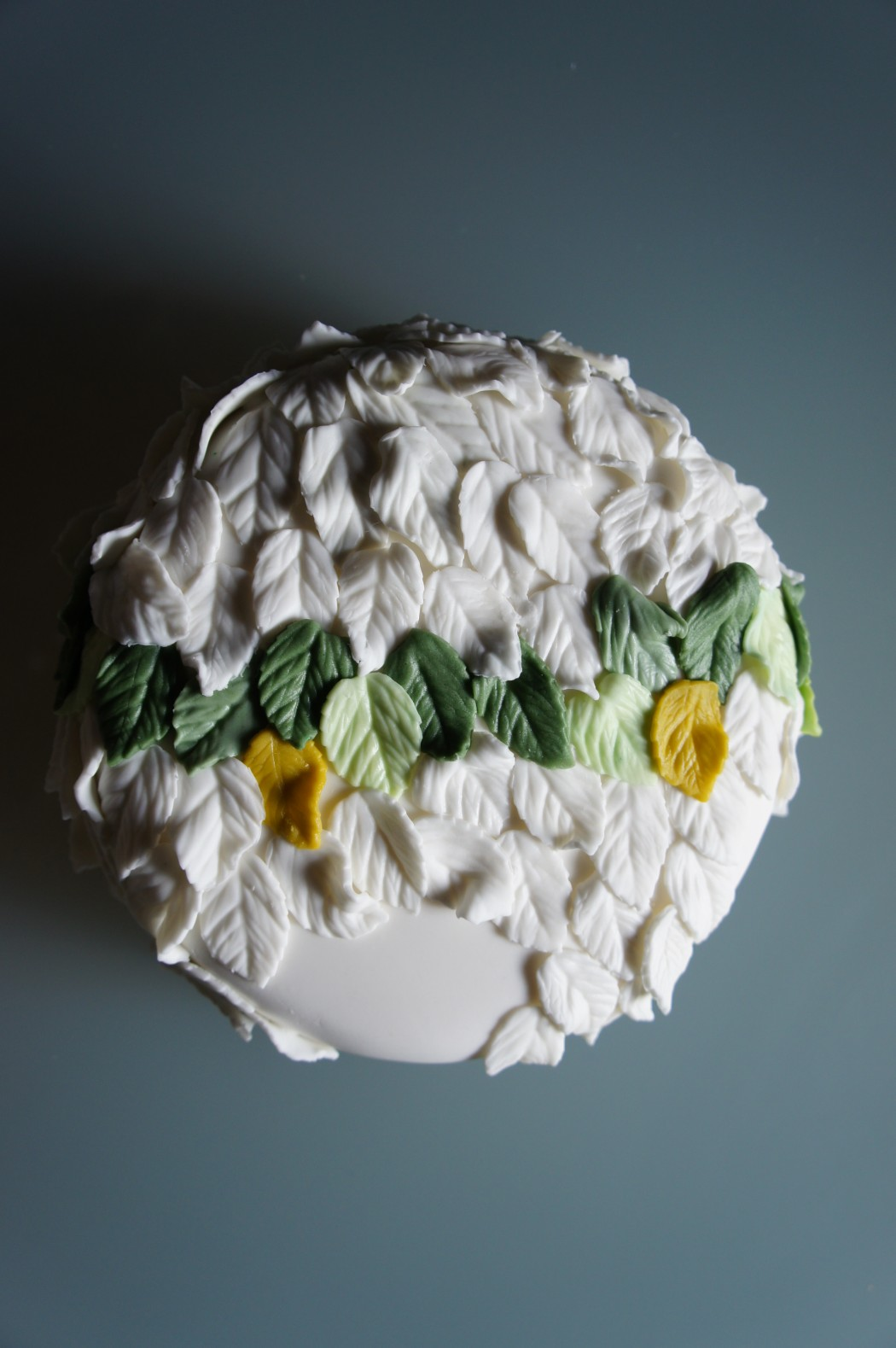 cake foglie autunno