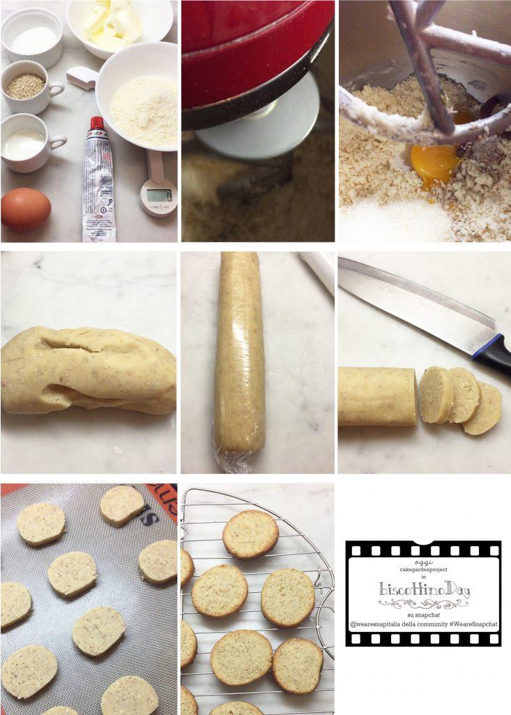biscottino salato alle acciughe e sesamo
