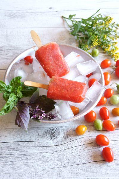 ghiaccioli al pomodoro