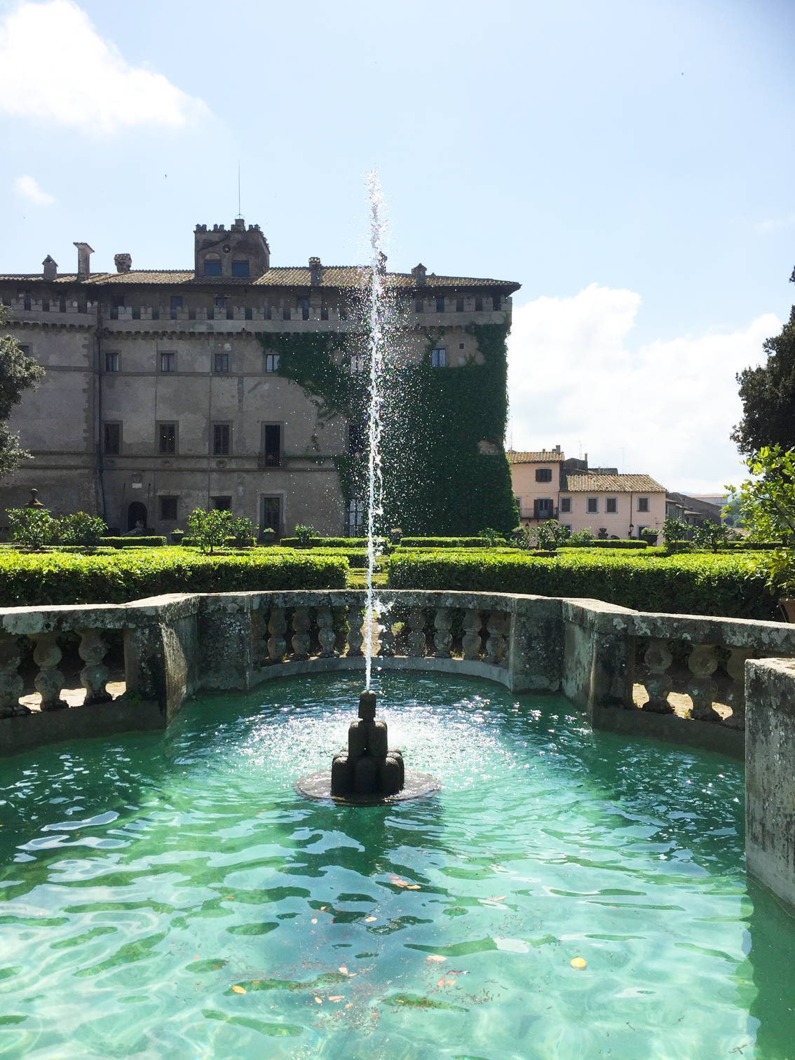 giardino all'italiana di vignanello
