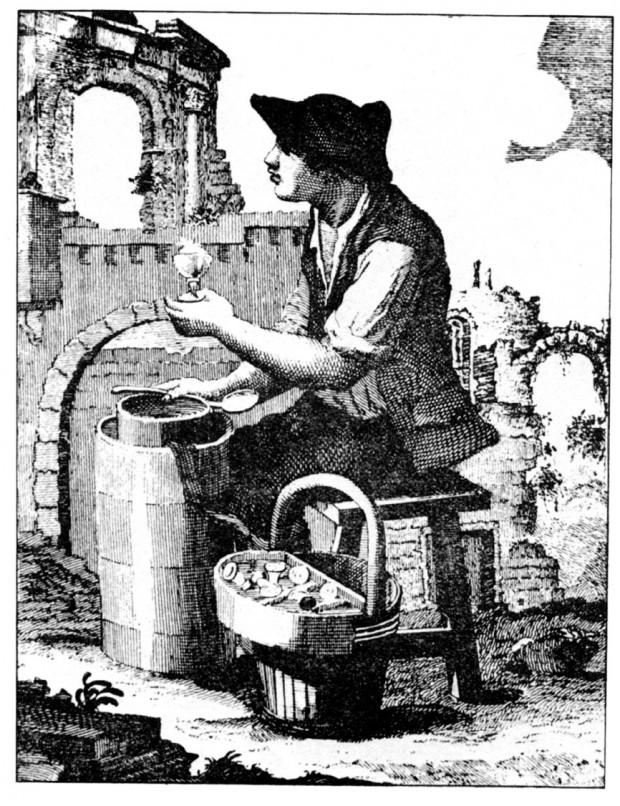 granita di caffè aromatizzata al limone