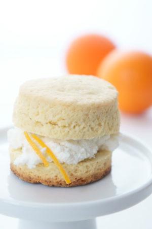 scones all'arancia