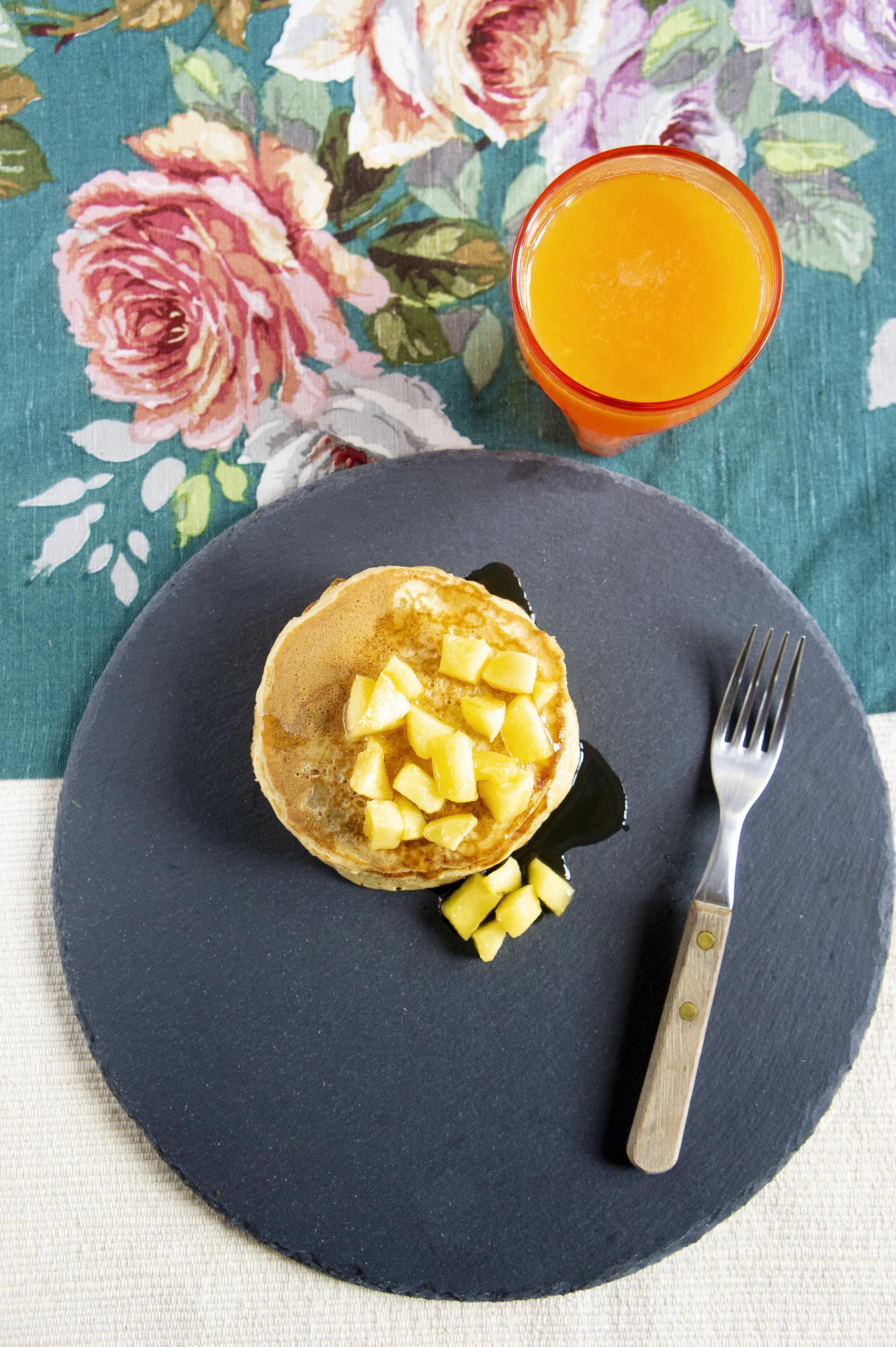 pancakes di mela